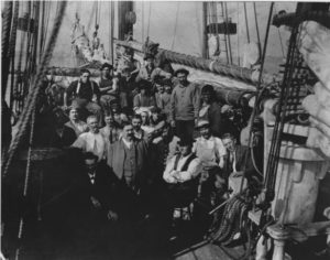 Crew of the Whaling Schooner, Margaret