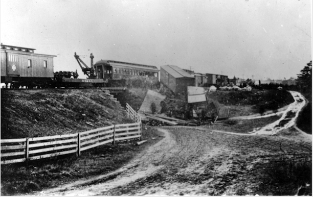 East Thompson train wreck, December 4, 1891