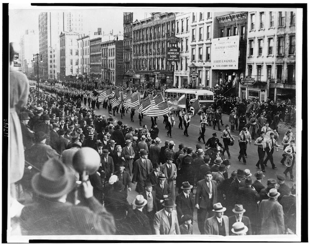 German American Bund parade