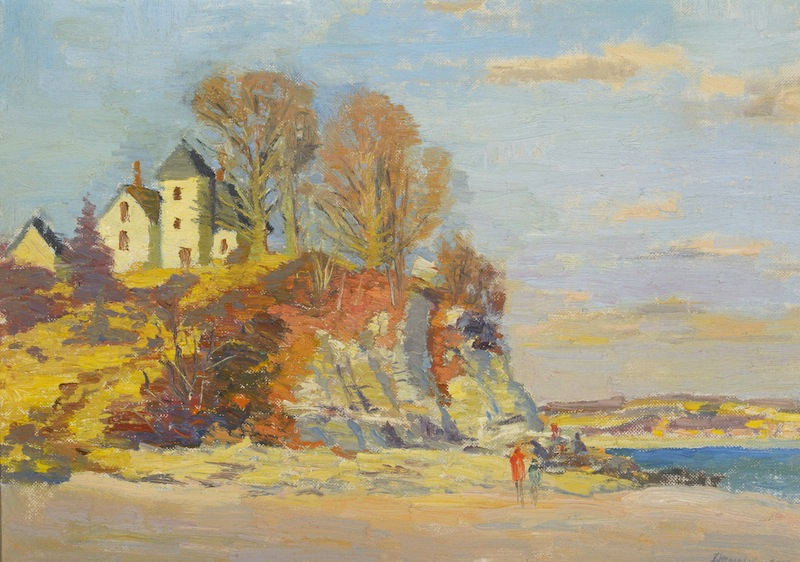 McCook Summer Place, East Lyme, Connecticut by Roger Wilson Dennis