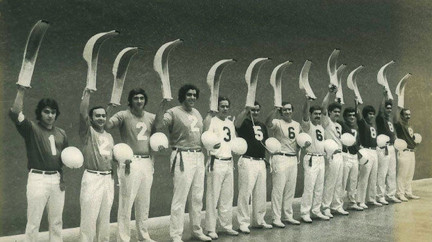 Hartford Jai Alai players, 1976
