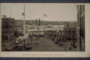 State Street and Old Ferry Landing, New London