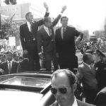 President Richard Nixon visits Hartford