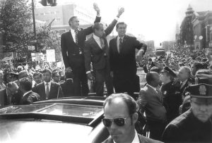 President Richard Nixon visits Hartford