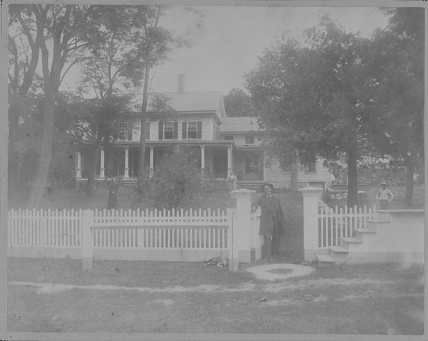 Adam Farm in North (or East) Canaan, Connecticut