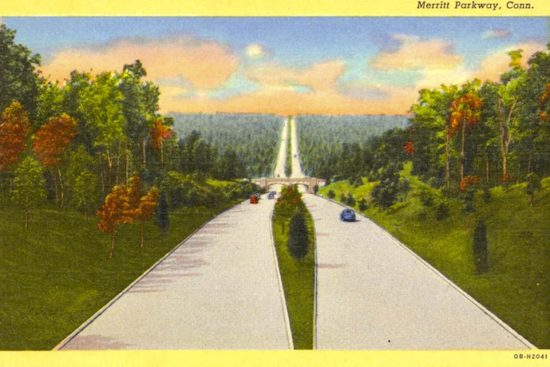 Postcard of the Merritt Parway, Conn.