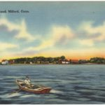 Postcard of Charles Island, Milford, CT