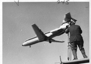 WTIC-TV filming airplane