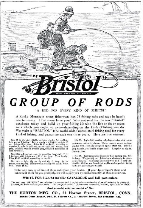 Advertisement for the Horton Mfg. Co.