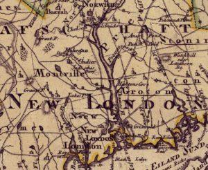 1768 Dutch Map of Connecticut