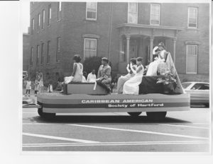 The Caribbean American Society float in the West Indian Parade