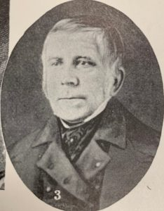 Nathaniel Bishop, comb manufacturer and Elder of the Danbury Sandemanian congregation in the mid-nineteenth century. Courtesy of Danbury Museum and Historical Society.