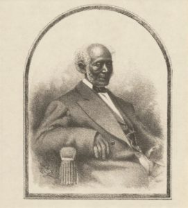 Portrait of James Williams from his biography