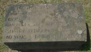 George Washington's Gravestone