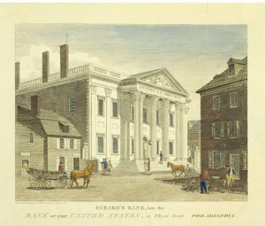 The First Bank of the United States - Library Company of Philadelphia